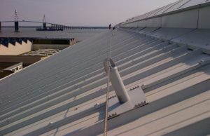 ligne de vie sur toit incliné