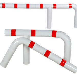Guide roues pour camions rouge et blanc